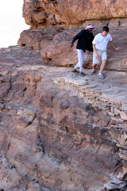 Back hike to Petra - Jordan Tour