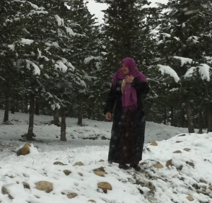Snow in Tunisia; Blanket Distribution