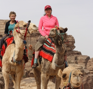 Women Traveling in Jordan