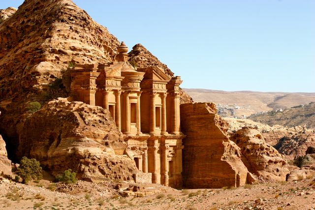 Petra has been empty of foreign tourists for months as a result of the COVID-19 coronavirus pandemic.