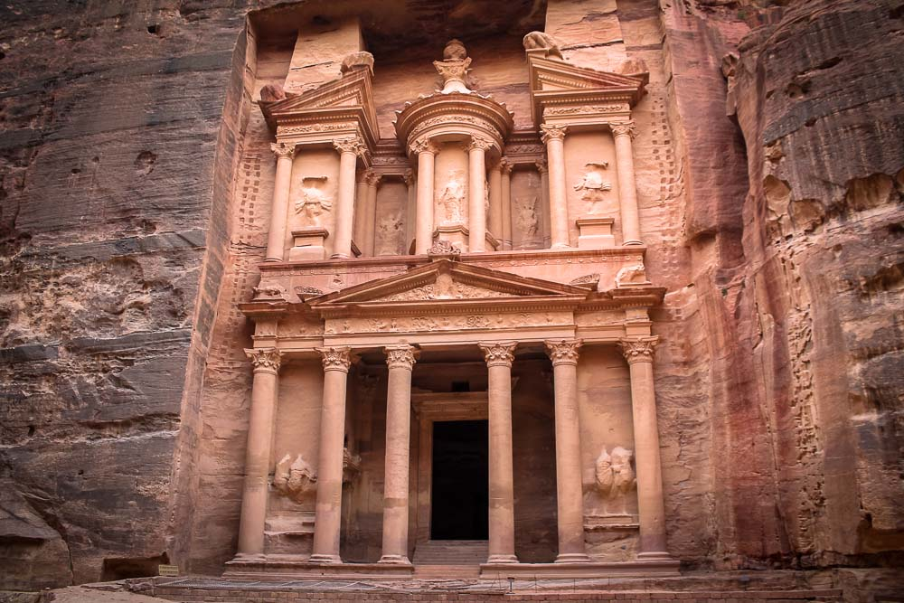The Treasury of Petra, Jordan tour