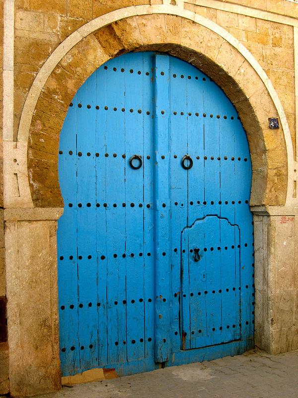 The Blue Doors of Sidi Bou Said