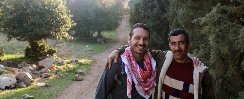 Hiking Ajloun, Jordan