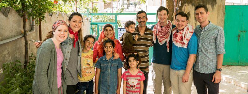 Local Jordanian family