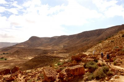 Hiking Chenini's Rolling Hills