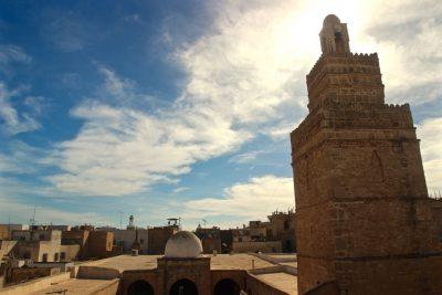 Great Mosque Sfax Medina Cafe Kemour View