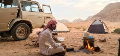private camping with Bedouin in Wadi Rum Jordan