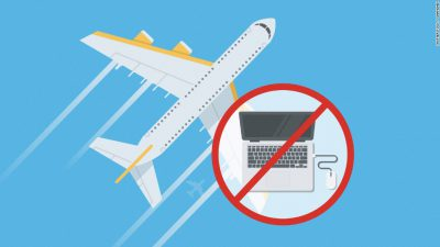 electronics ban on flights to US