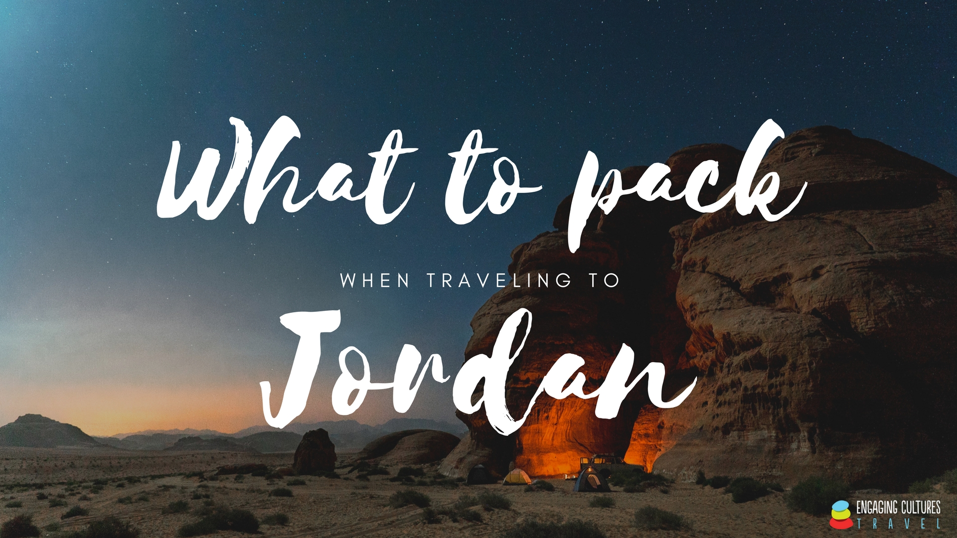 What to Pack When Traveling to Jordan