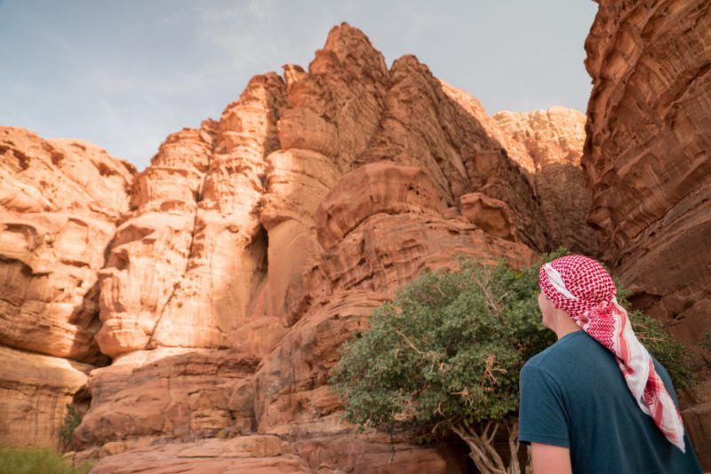 Wadi Rum tour Jabal Khazali