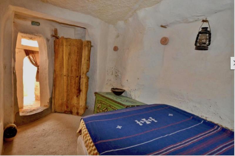 Cave Like Room at the Kenza Hotel in Chenini Tunisia