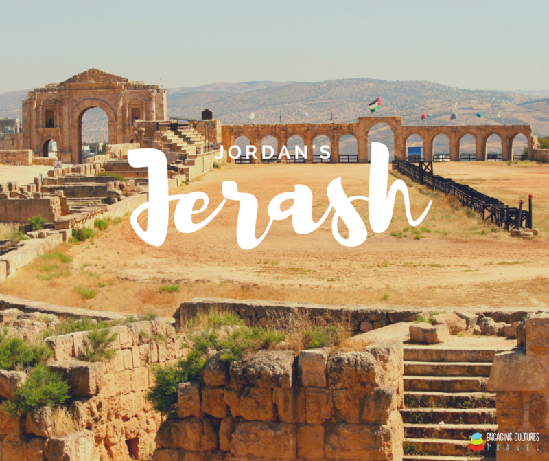 the Hippodrome of Jerash seen on a Jordan tour