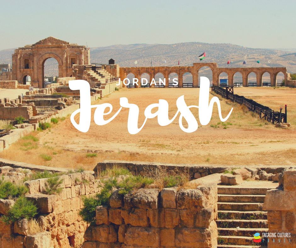 the Hippodrome of Jerash seen on a Jordan tour
