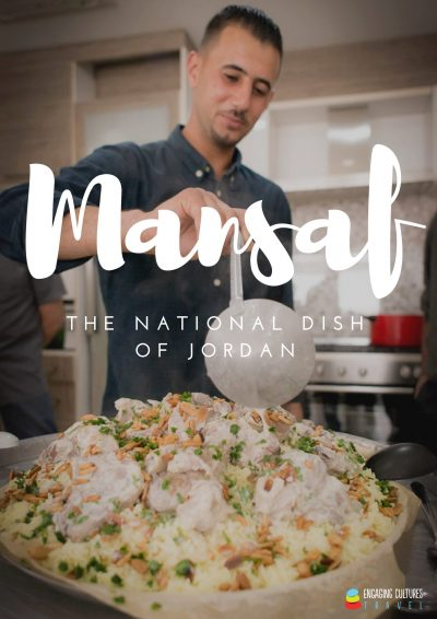 the Jordanian national dish mansaf - Jordan tour