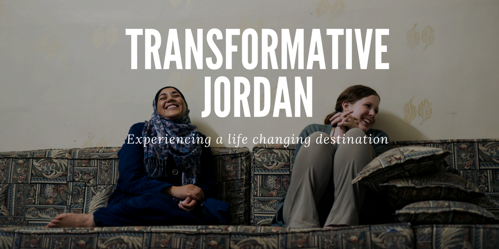 the country of Jordan as a transformative destination