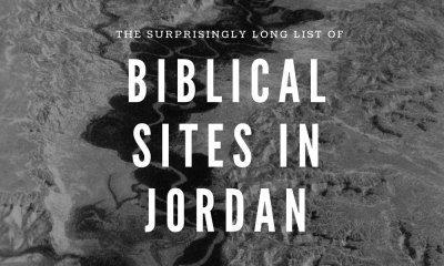 a list of the Biblical sites found in the country of Jordan