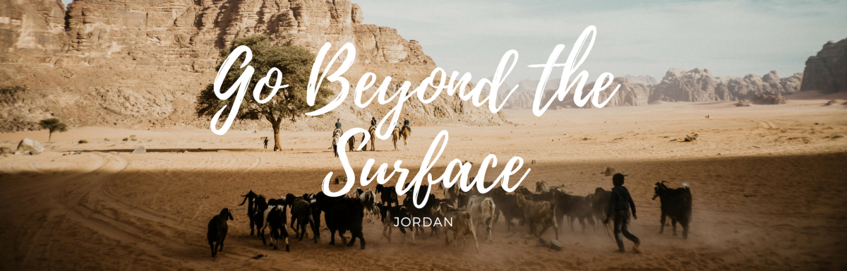 Customized Jordan Tours taking you beyond the surface