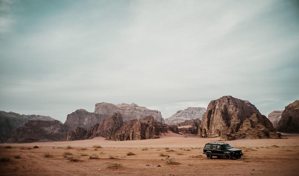 Wadi Rum Jordan tour 4x4