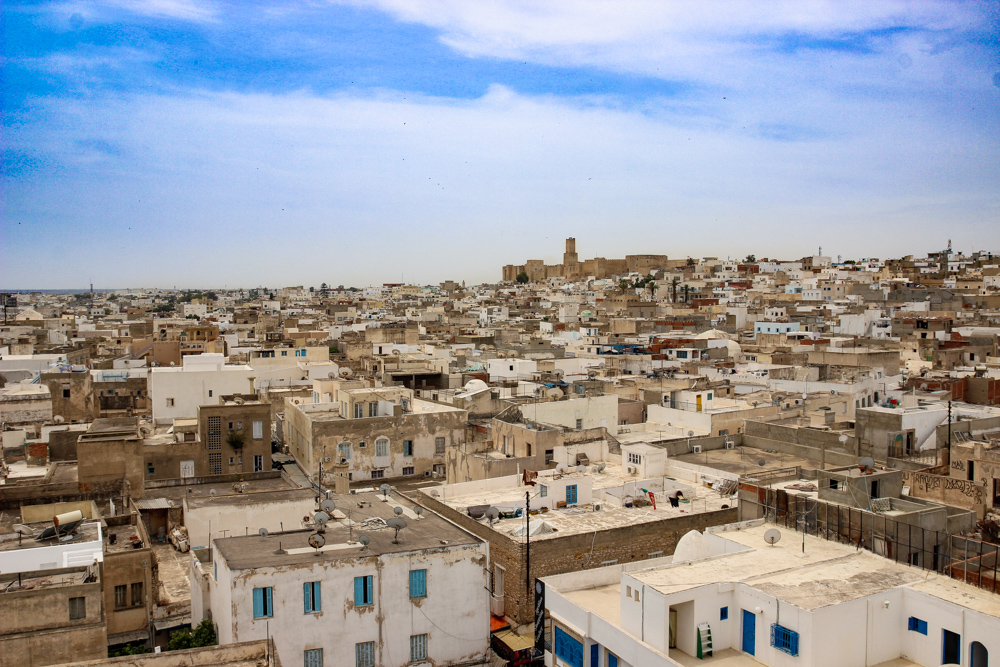 View of the Sousse Medina from the Ribat