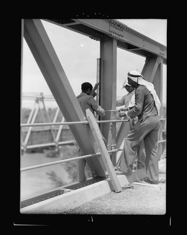 new allenby bridge - 1930s