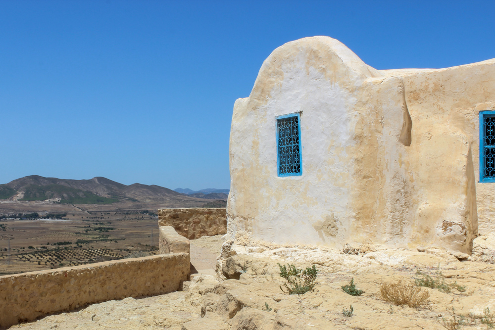Traditional Berber Architecture in Takrouna, Tunisia