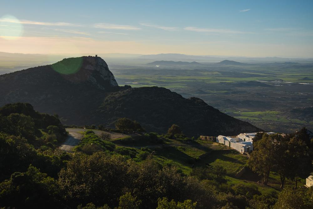 View from Zaghouan Mountain